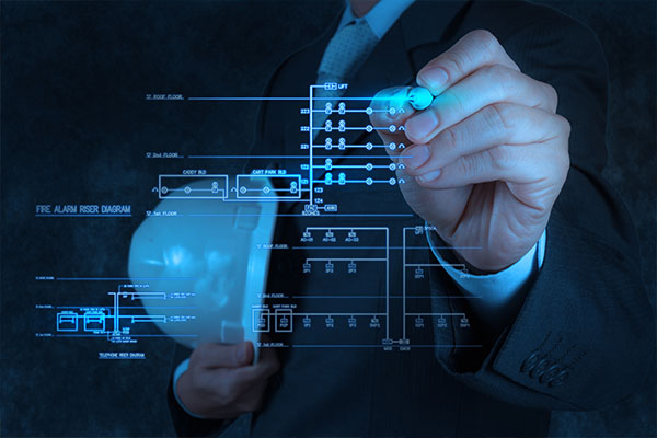 Commercial alarm system design